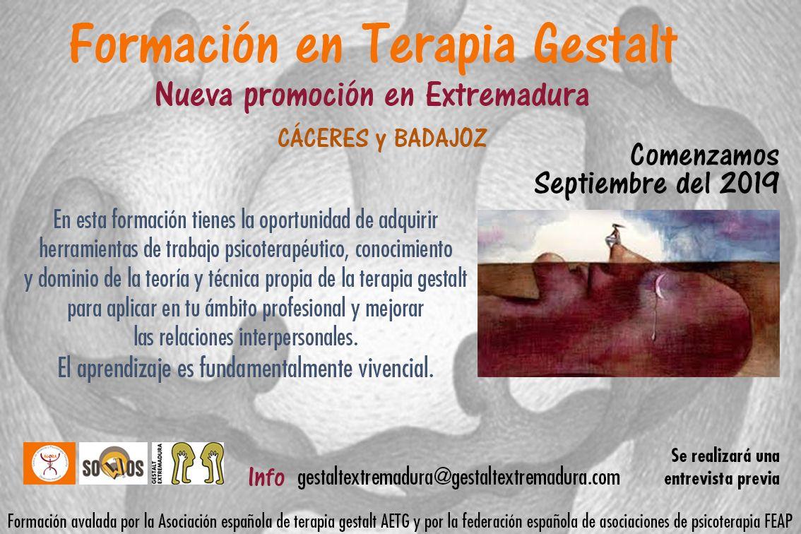 terapia gestalt Extremadura